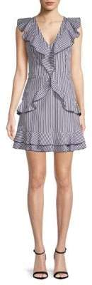 Parker Stripe Cotton Sheath Dress