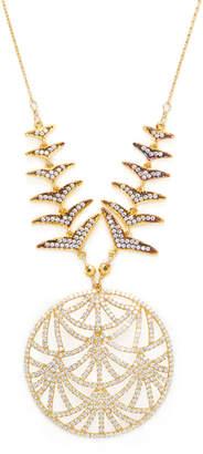 Azaara Embellished Cz Necklace