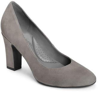 Aerosoles A2 BY  Womens Octagon Pumps Slip-on Round Toe Block Heel