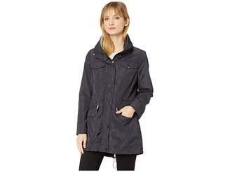 MICHAEL Michael Kors Snap Front Multi Pocket Rain Jacket M322930GZ
