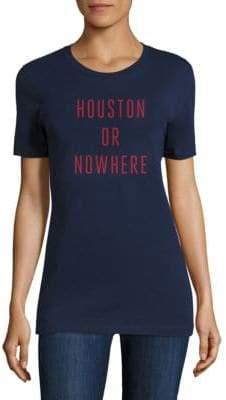 Knowlita Houston Or Nowhere Cotton Graphic Tee