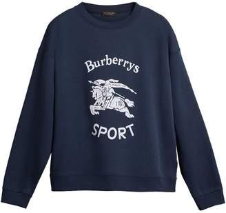 Burberry reissued 1987 sweatshirt
