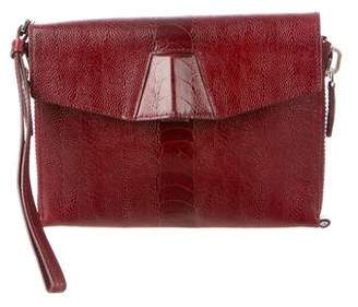 Alexander Wang Embossed Leather Lydia Clutch