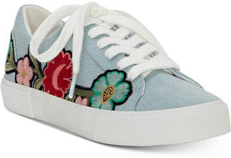 Jessica Simpson Dessa Embroidery Lace-Up Sneakers Women's Shoes