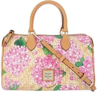 Dooney & Bourke Hydrangea Basketweave Classic Satchel Handbag