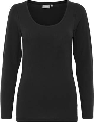 B.young Pamila Women Tops Long Sleeve Blouse