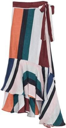 Apiece Apart Rosita Wrap Skirt in Alhambra Stripe