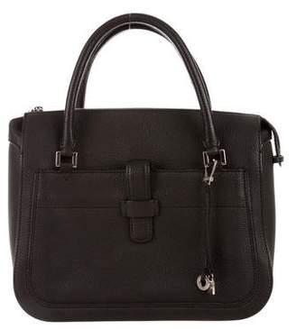 Loro Piana Bellevue Leather Satchel