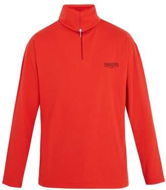 Balenciaga - Sinners Print Roll Neck Cotton Jersey Top - Mens - Red