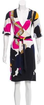 Diane von Furstenberg Silk Eve Dress
