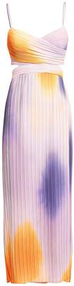 A.L.C. Sienna Ombre Pleated Dress