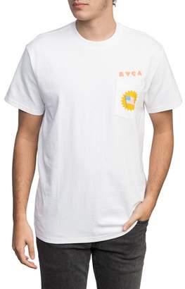RVCA Luke Pelletier Blue Panther T-Shirt