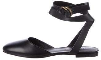 Jenni Kayne Leather Wrap-Around Flats