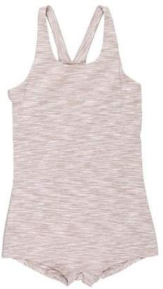 Outdoor Voices Mélange Sleeveless Bodysuit w/ Tags
