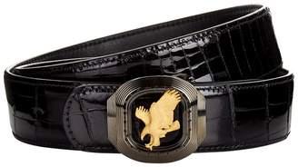 Stefano Ricci Flying Eagle Crocodile Belt