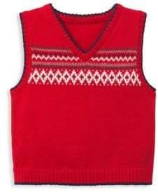 Janie and Jack Baby Boy's Fair Isle Sweater Vest