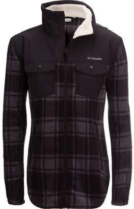 Columbia Benton Springs Overlay Full-Zip Fleece Jacket - Women's