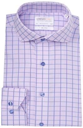 Lorenzo Uomo Textured Box Regular Fit Dress Shirt