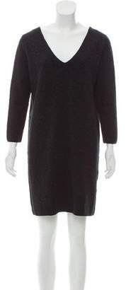 Comptoir des Cotonniers Wool Knit Mini Dress