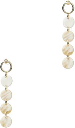 Argentovivo Horn Layered Earrings