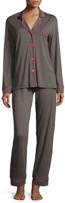 Cosabella Bella Long-Sleeve Pajama Set $130 thestylecure.com