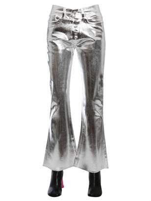 MM6 MAISON MARGIELA Jeans With Metallic Coating