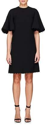 Chloé Women's Scalloped Cady Shift Dress