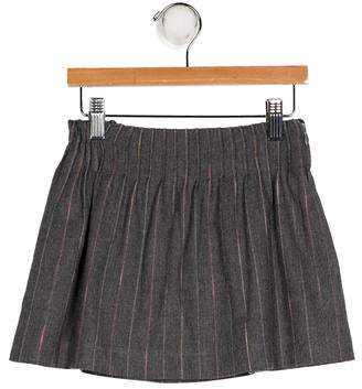 Aletta Girls' Striped A-Line Skirt