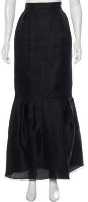 Valentino Silk Maxi Skirt