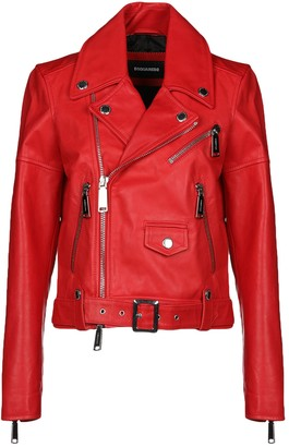 Dsquared2 Women s Shopstyle Dsquared2 Women s Jackets Leather Leather rYxrO 9daa4927cccc