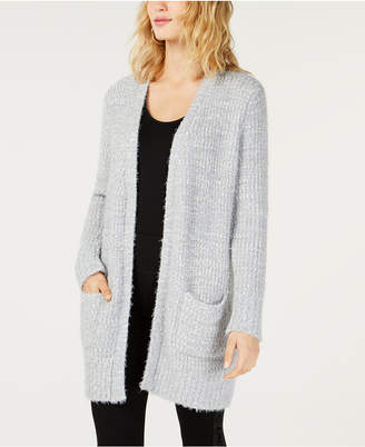 INC International Concepts I.N.C. Open-Front Boucle Cardigan, Created for Macy's