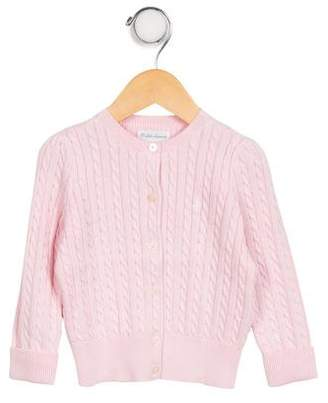 Ralph Lauren Girls' Cable Knit Button-Up Cardigan w/ Tags