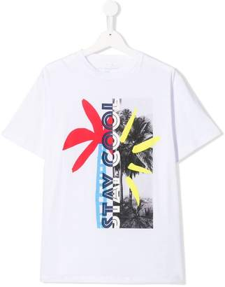Stella McCartney TEEN stay cool print T-shirt