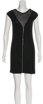 Alexander Wang Cap Sleeve Mini Dress