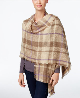 Lauren Ralph Lauren Plaid Blanket Scarf $50 thestylecure.com