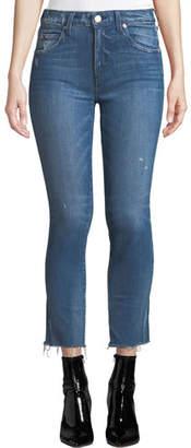 Amo Denim Stix Mid-Rise Cropped Skinny Jeans