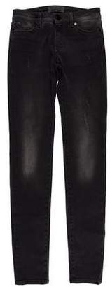 Superfine Mid-Rise Skinny Jeans w/ Tags