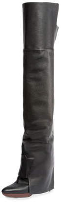 Givenchy Newton Over-The-Knee Boot, Black