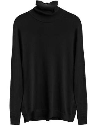 Cuyana Cotton Cashmere Turtleneck Sweater