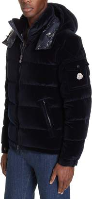 Moncler May Velvet Down Jacket