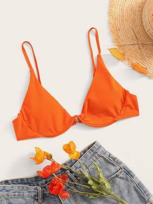 Shein Underwire Spaghetti Strap Bikini Top