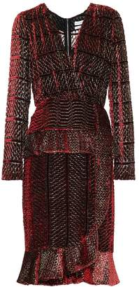 Altuzarra Anniversary collection Farley velvet and silk dress