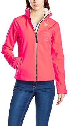 Gaastra Women's Mao Long Sleeve Jacket Red Rot (Fireball Fluo L68)