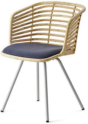 Spin Armchair - Gray Sunbrella - Cane-line