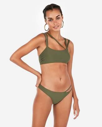 Express Strappy Scoop Bikini Top
