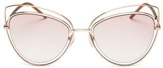 MARC JACOBS Floating Cat Eye Sunglasses, 56mm $200 thestylecure.com