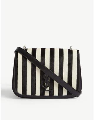 Saint Laurent Spontini stripe leather satchel