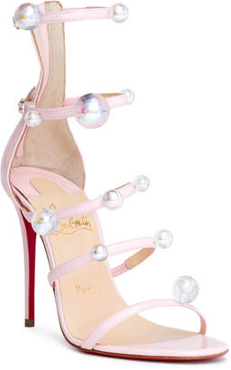 Christian Louboutin Atonana 100 patent leather sandals