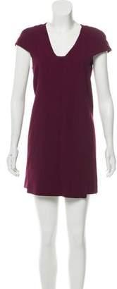 Tibi Virgin Wool Mini Dress