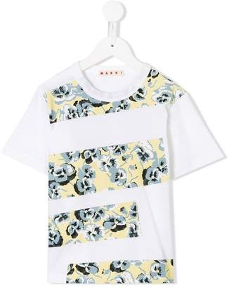 Marni Poetry Flower print T-shirt